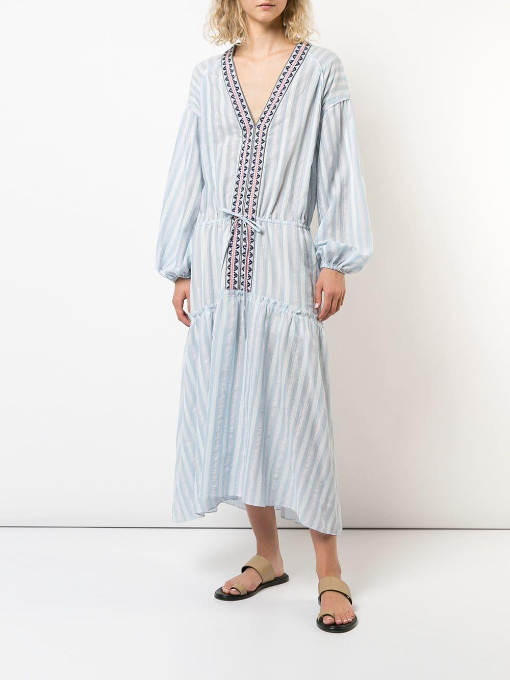 Vestido largo Nefasi lemlem de color Azul