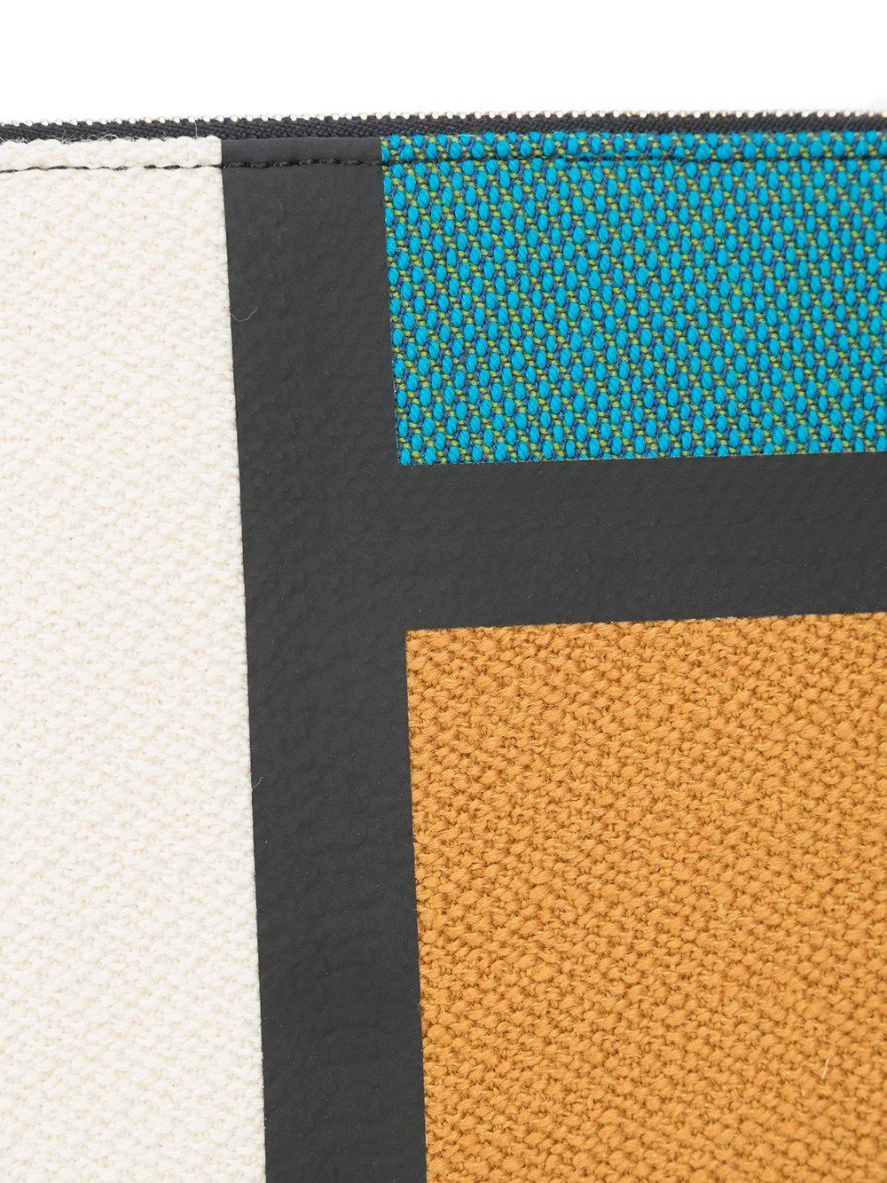 colour block clutch - Multicolour Valextra XCV3vuj