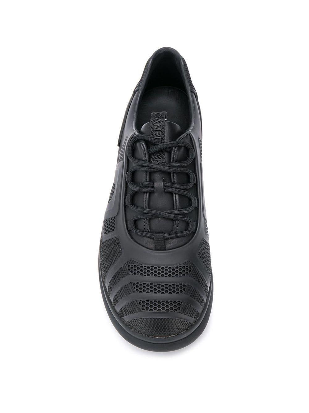 Zapatillas con perforaciones Camper de Cuero de color Negro