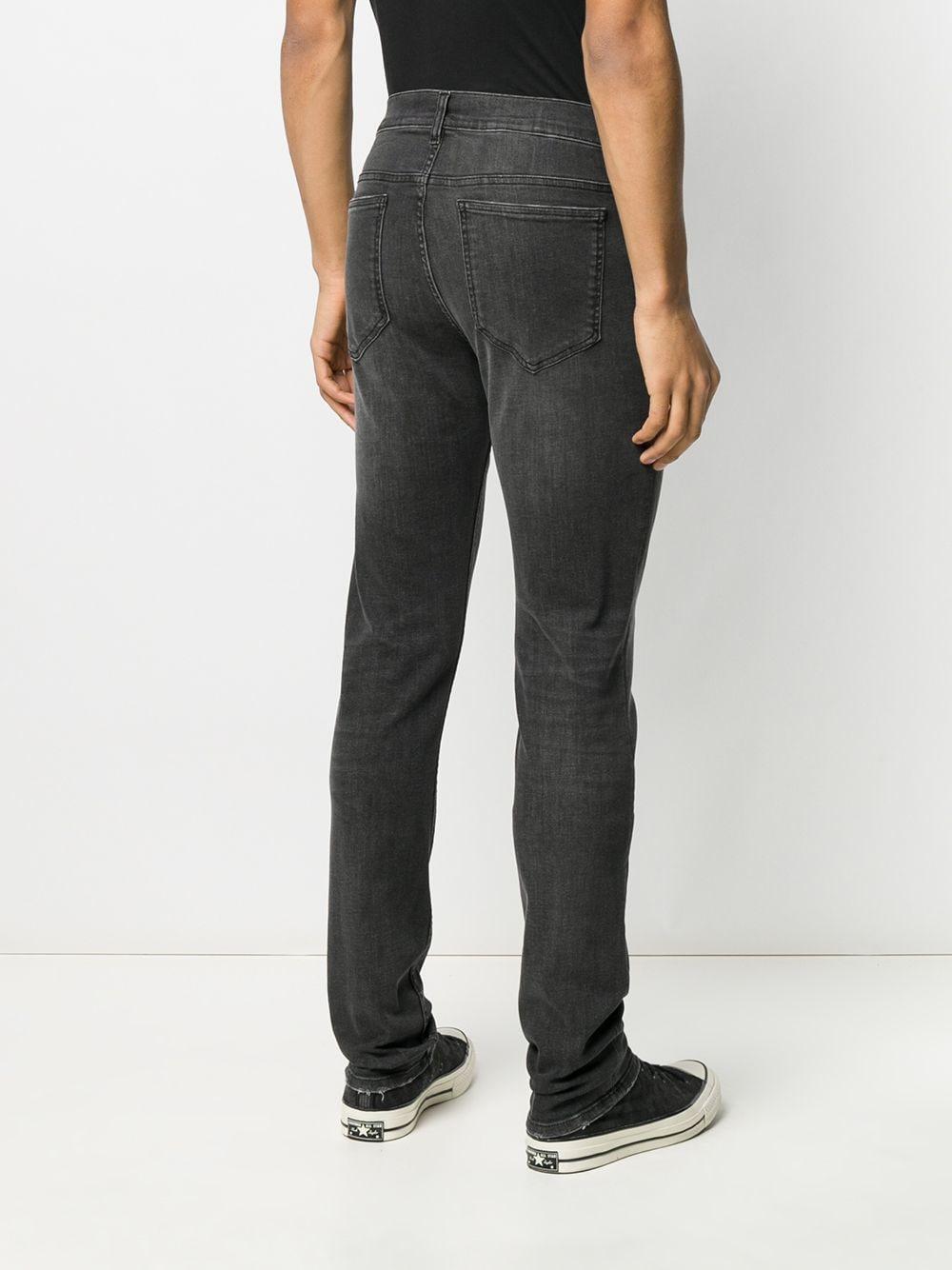 Moschino Denim Slim-fit Jeans in het Grijs voor heren
