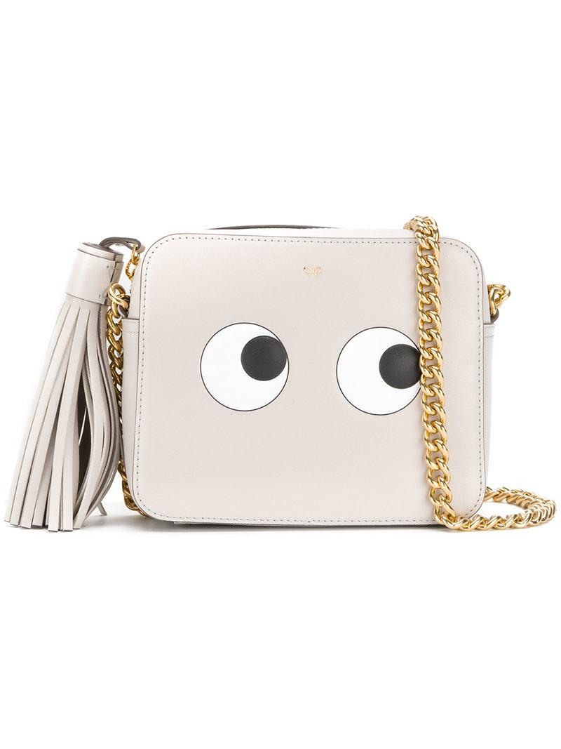 Yeux Sac Bandoulière - Gris Anya Hindmarch 5VwYYvFrC6
