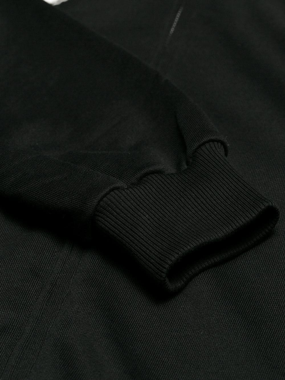 Dolce & Gabbana Silk Hooded Patch Jacket in Black for Men