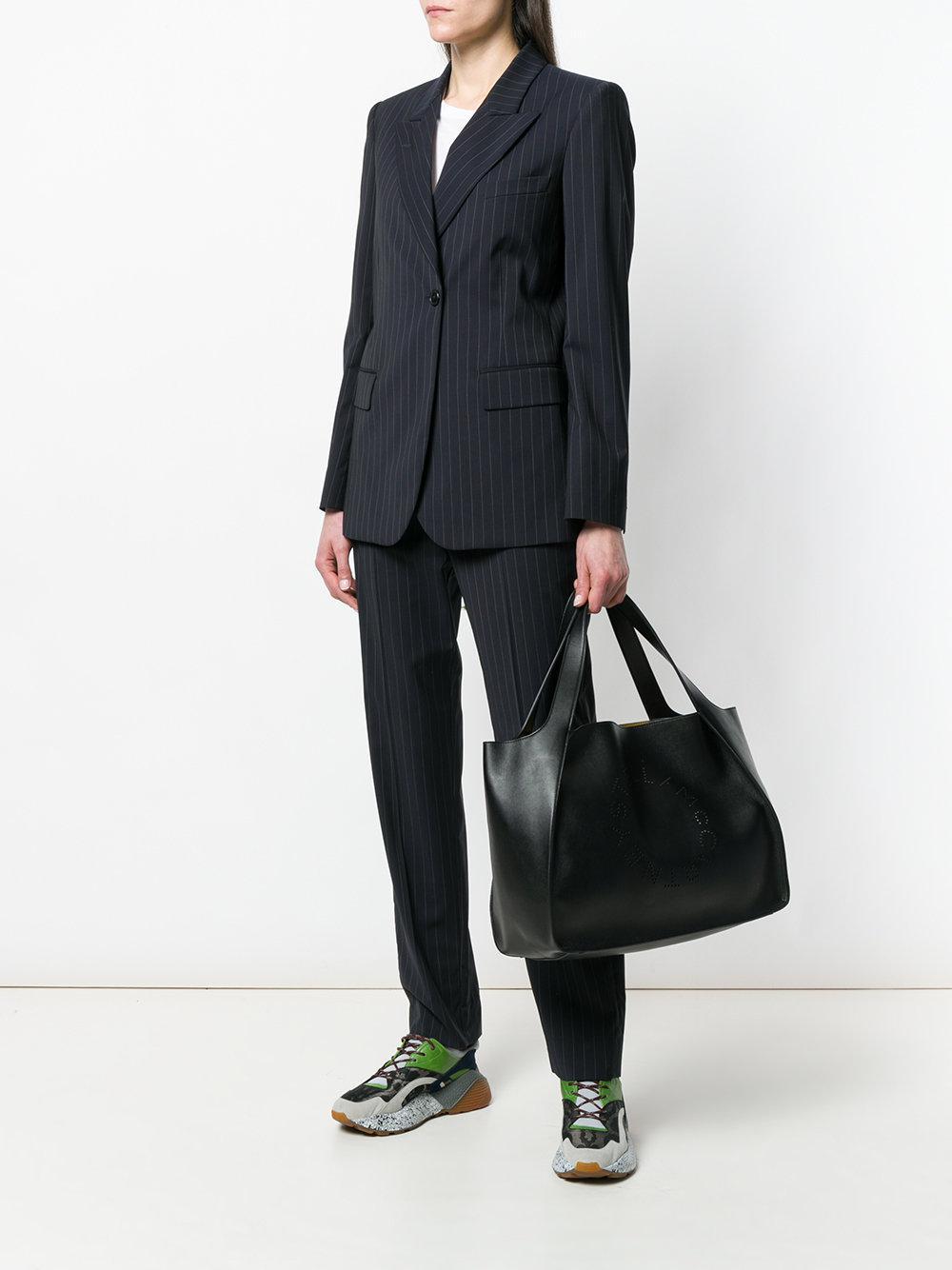 Stella McCartney Stella Logo Tote Bag in Black