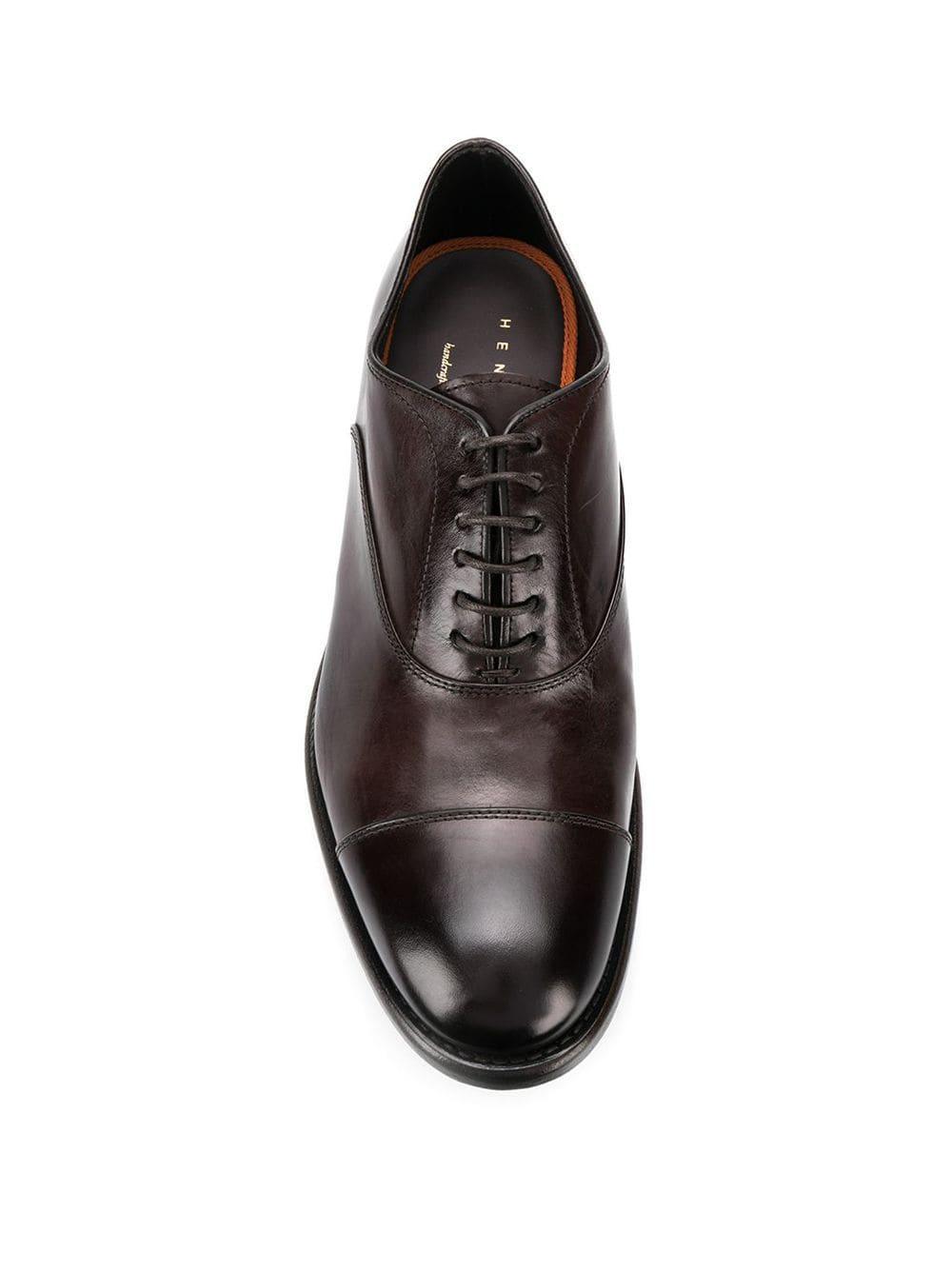 Zapatos oxford Henderson de Cuero de color Marrón para hombre: ahorra un 50 %