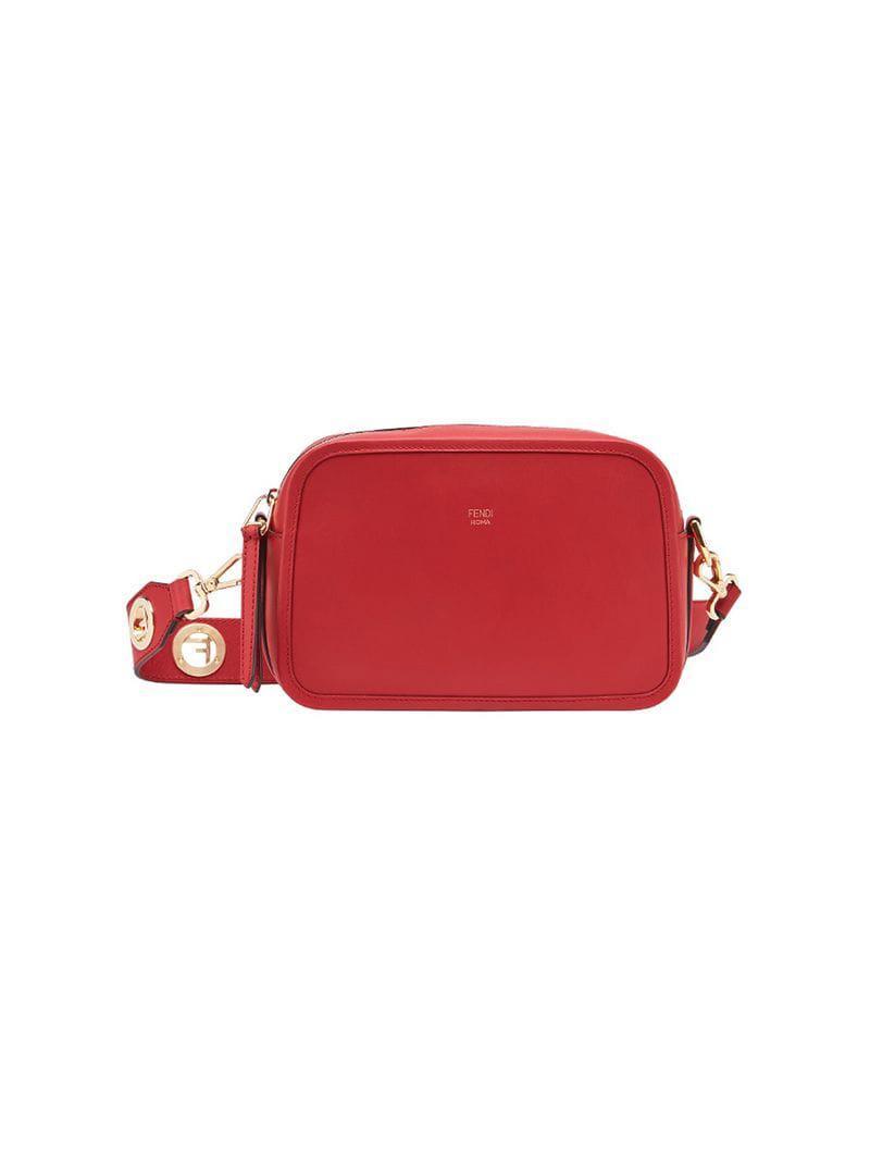 91343f9f08a9 Fendi - Red Camera Case Bag - Lyst. View fullscreen