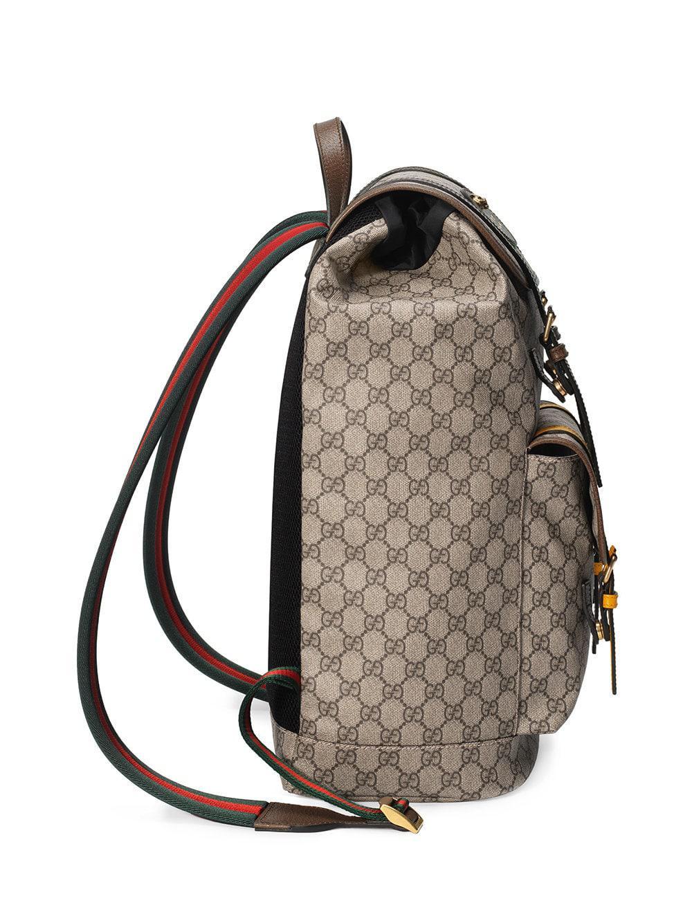 83d281ba4debce Gucci Zaino 'soft Gg Supreme' for Men - Save 7% - Lyst