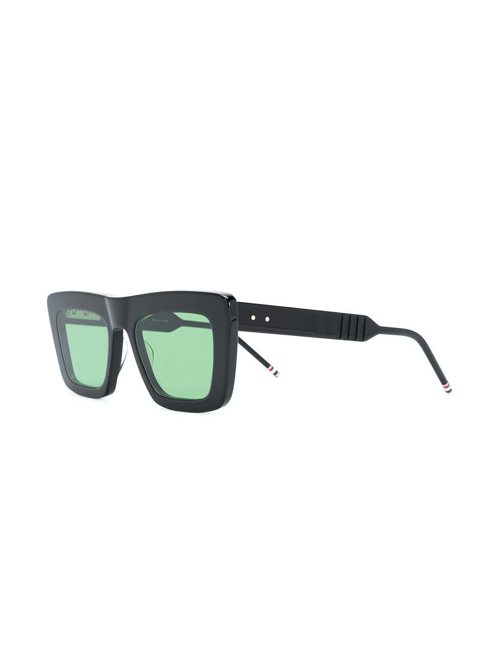 f20bdd144ef Lyst - Thom Browne Square Sunglasses in Black