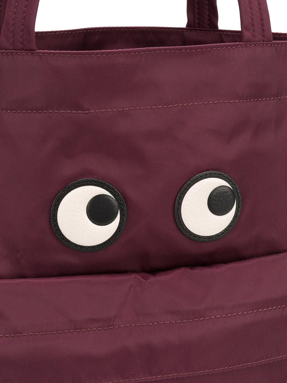 Anya Hindmarch Synthetik 'Eyes' Handtasche in Lila OLxaU