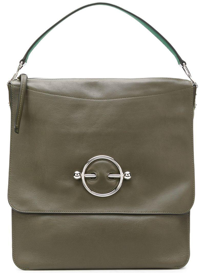 f8b99305d6f Lyst - JW Anderson Hobo Disc Bag in Green