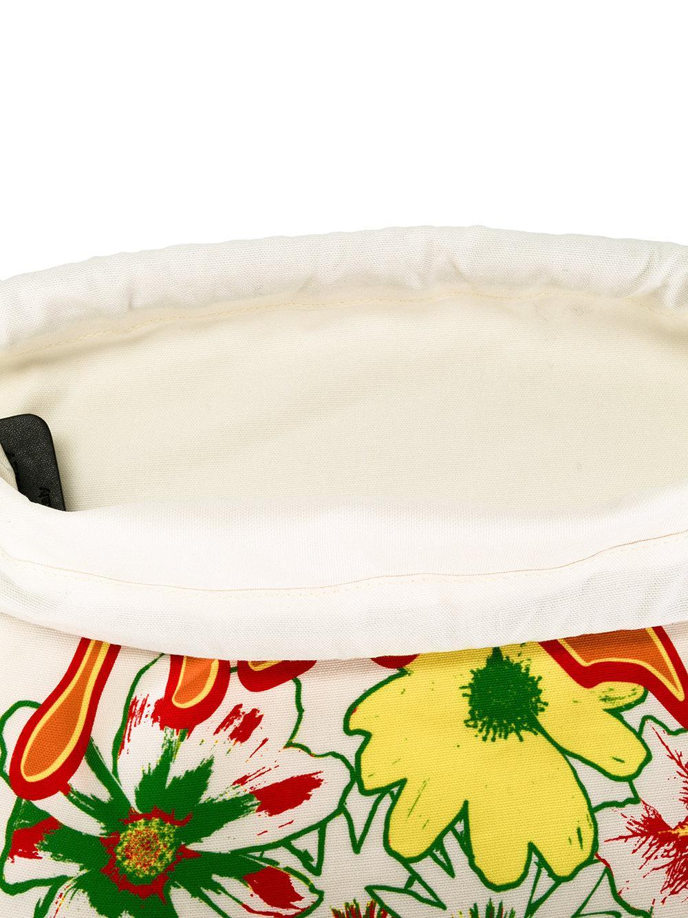 Stella McCartney Nice One Print Backpack in White