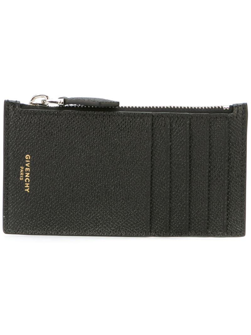 Lyst Givenchy Zip Wallet In Black For Men