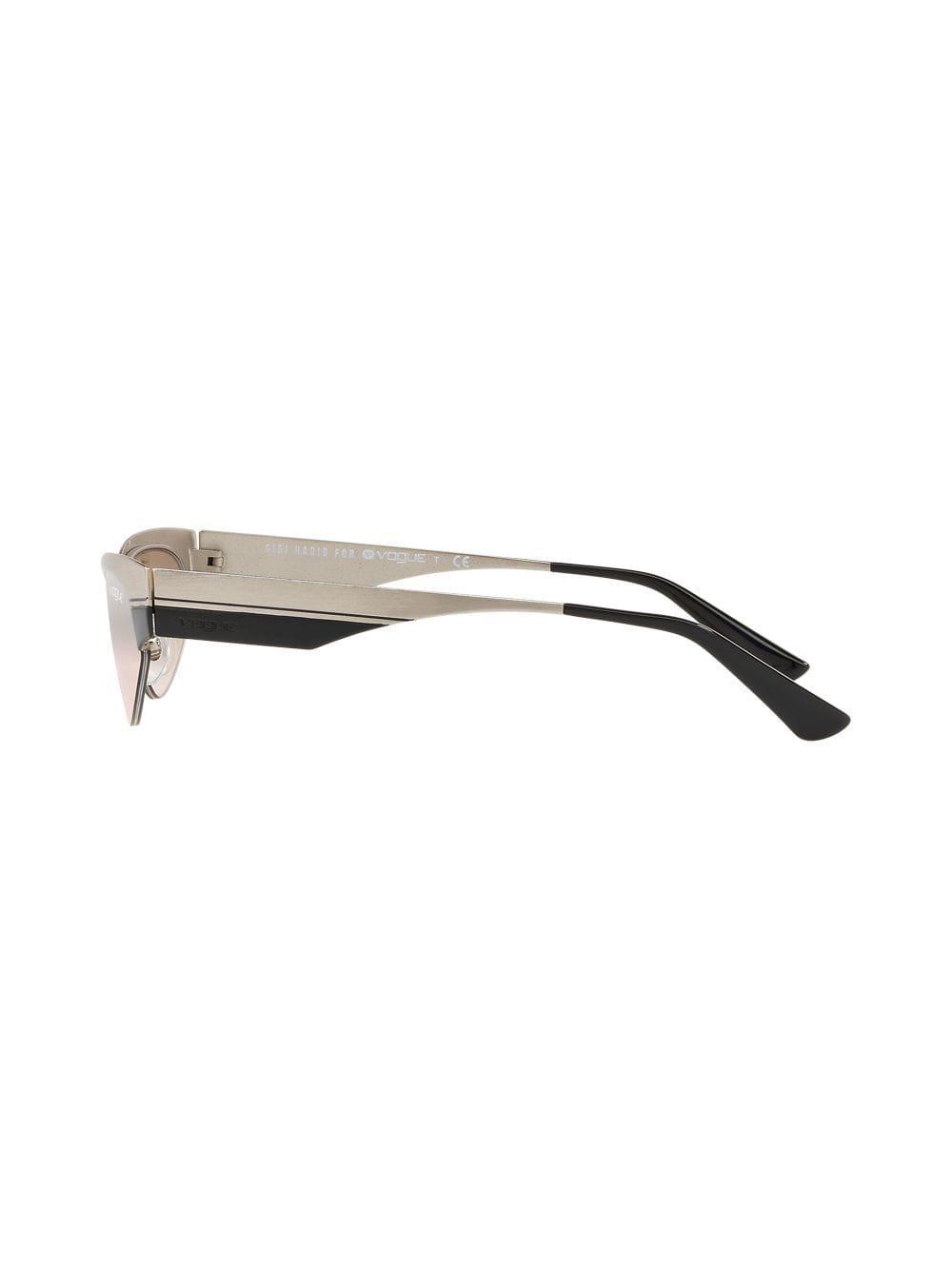 Metallic Vogue Low In Sunglasses Eyewear Lyst Frame q1vgZ