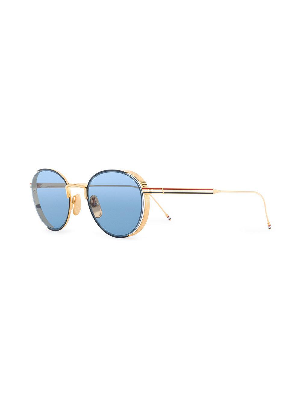 07323032b4e4 Lyst - Thom Browne Tb 106 C Sunglasses in Blue