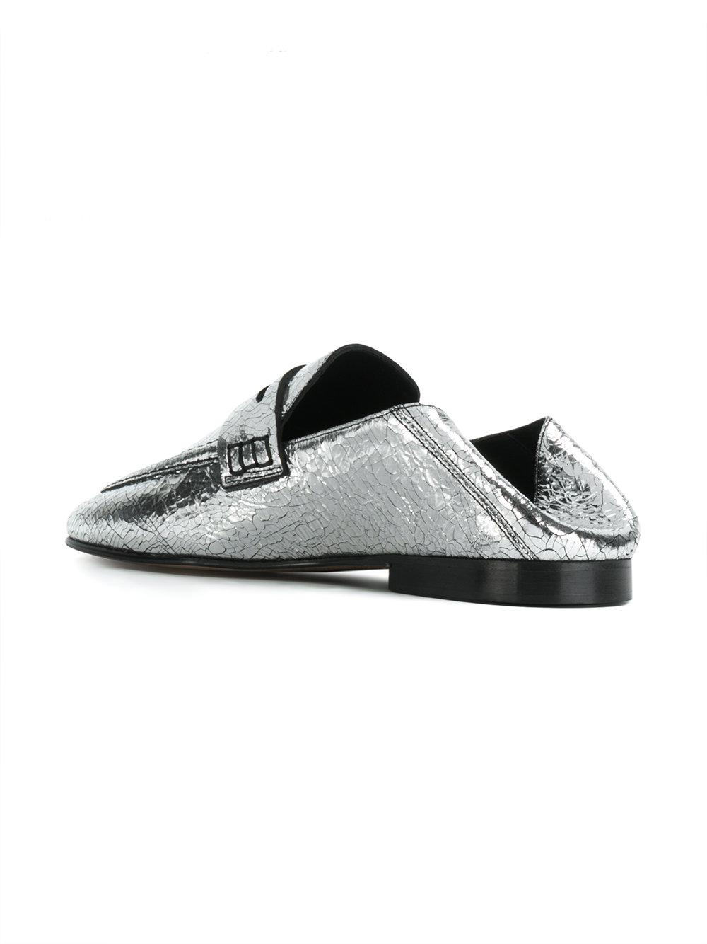 ac29385bc96 Lyst - Isabel Marant Fezzy Loafers in Gray