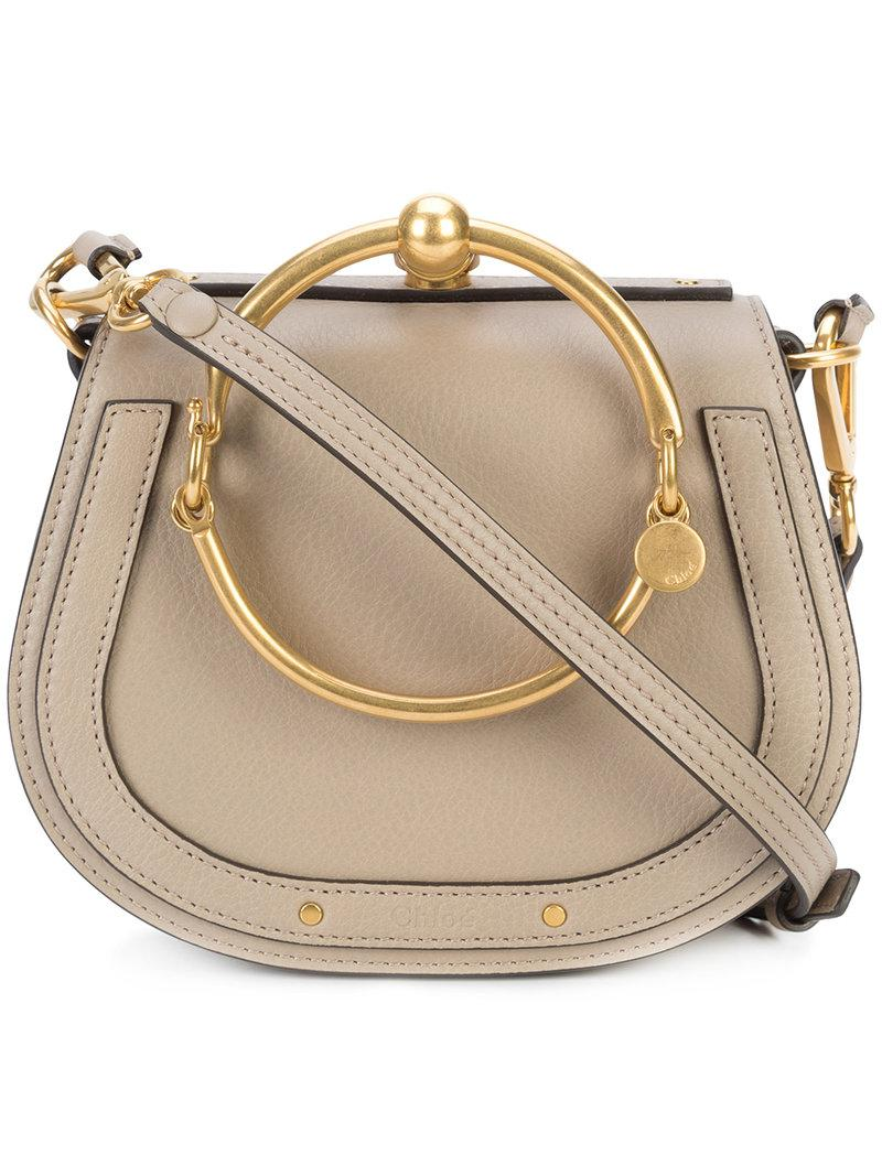 4fc800f4f5c1 Chloé Small Nile Bracelet Bag in Natural - Save 11.344537815126046 ...