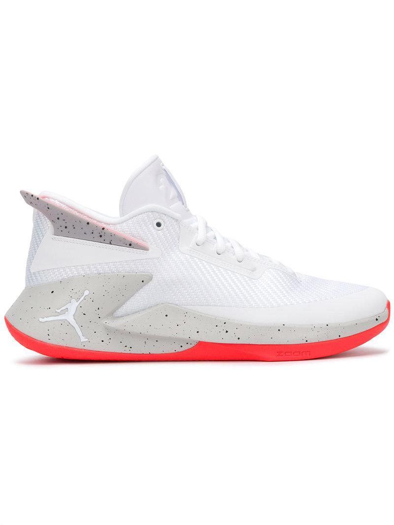 wholesale dealer b95c4 691c5 Nike Jordan Fly Lockdown Trainers in White for Men - Lyst