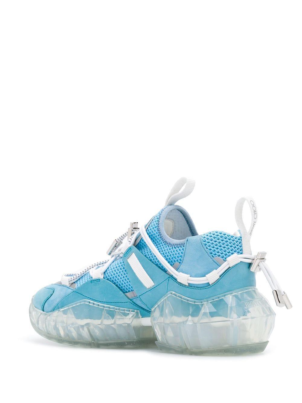 Zapatillas bajas Diamond Trail Jimmy Choo de Cuero de color Azul