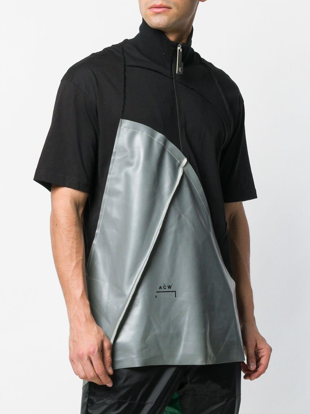 A_COLD_WALL* Katoen Sweater Met Halve Rits in het Zwart voor heren