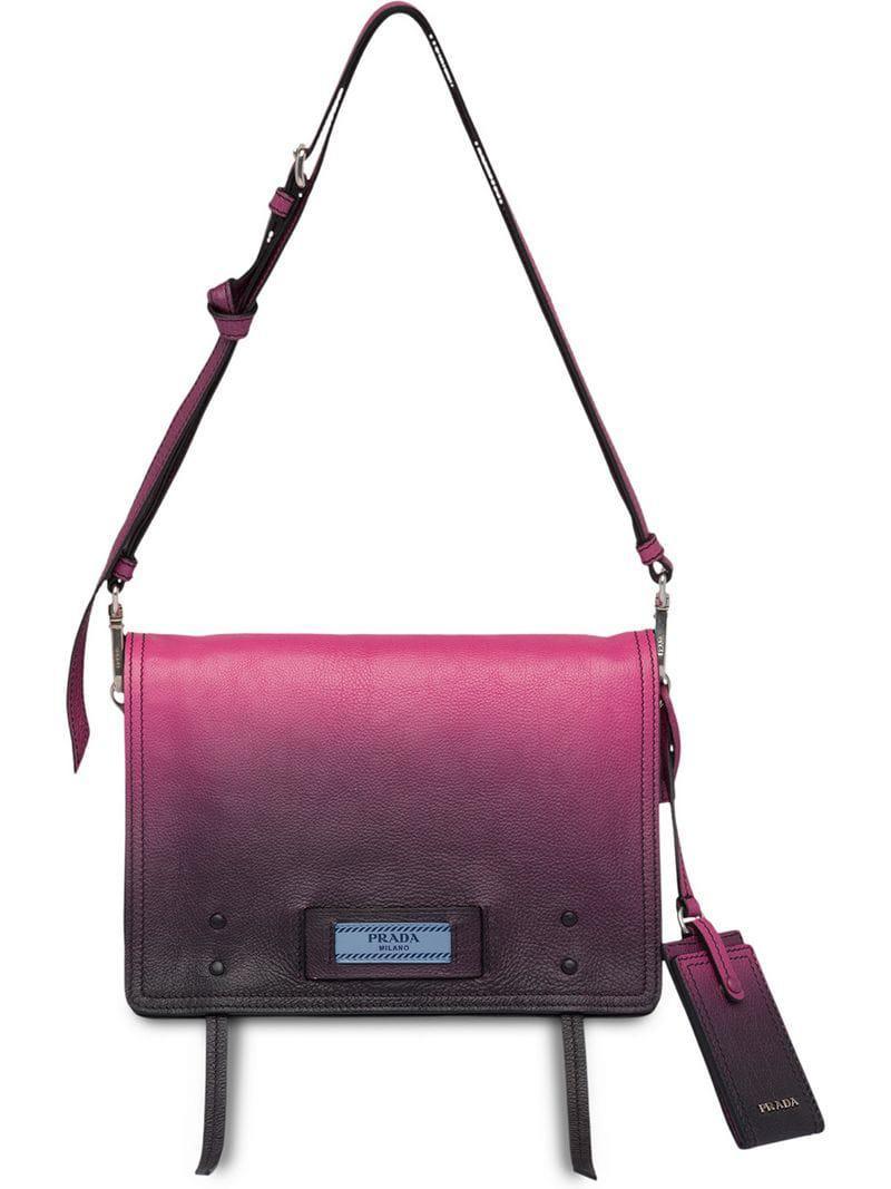 1d178456cb80 Lyst - Prada Etiquette Shoulder Bag in Pink