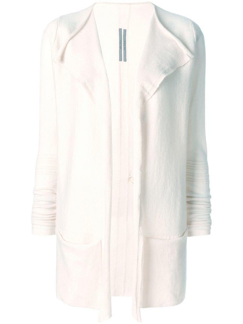 Rick Owens Open Relaxed Cardigan in Pink - Lyst 517251561