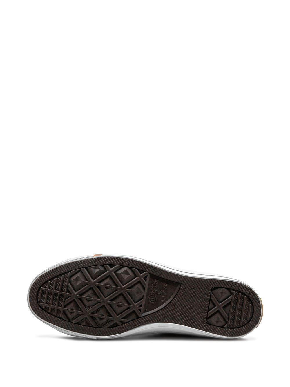 Zapatillas CTAS HI Converse de Cuero de color Blanco para hombre