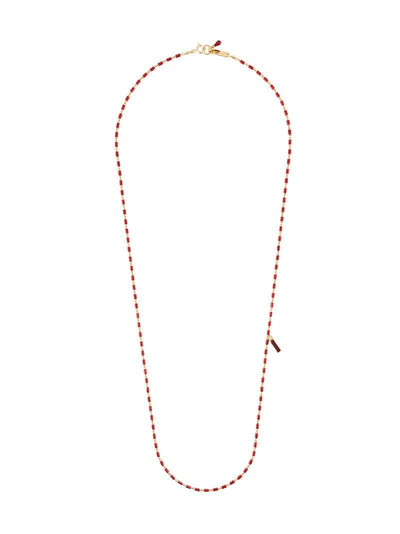 Esmaltado Collar - Marant Isabel Roja V2eNYgAXgI