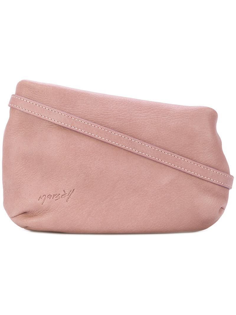 slanted shoulder bag - Pink & Purple Mars MUpb1CW