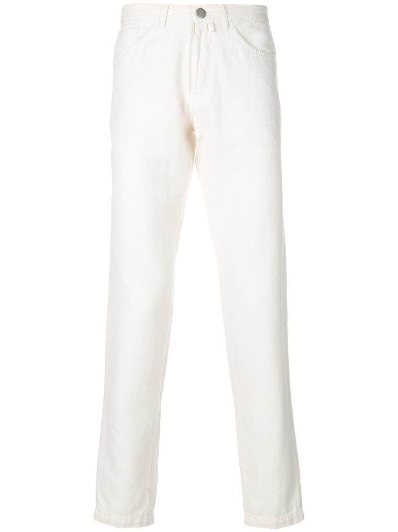 skinny jeans - White Fashion Clinic Timeless AxNYd