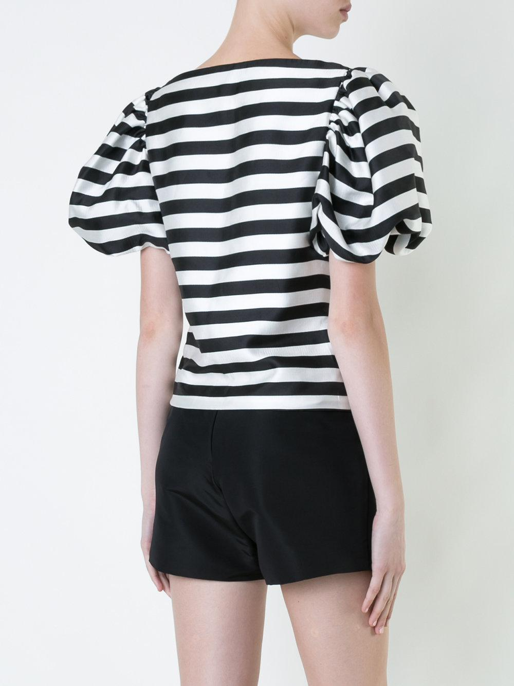 Free Shipping Shopping Online Discount Explore striped sailor top - Black Bambah For Cheap Sale Online Free Shipping Excellent Choice Cheap Price bHmDgx9V