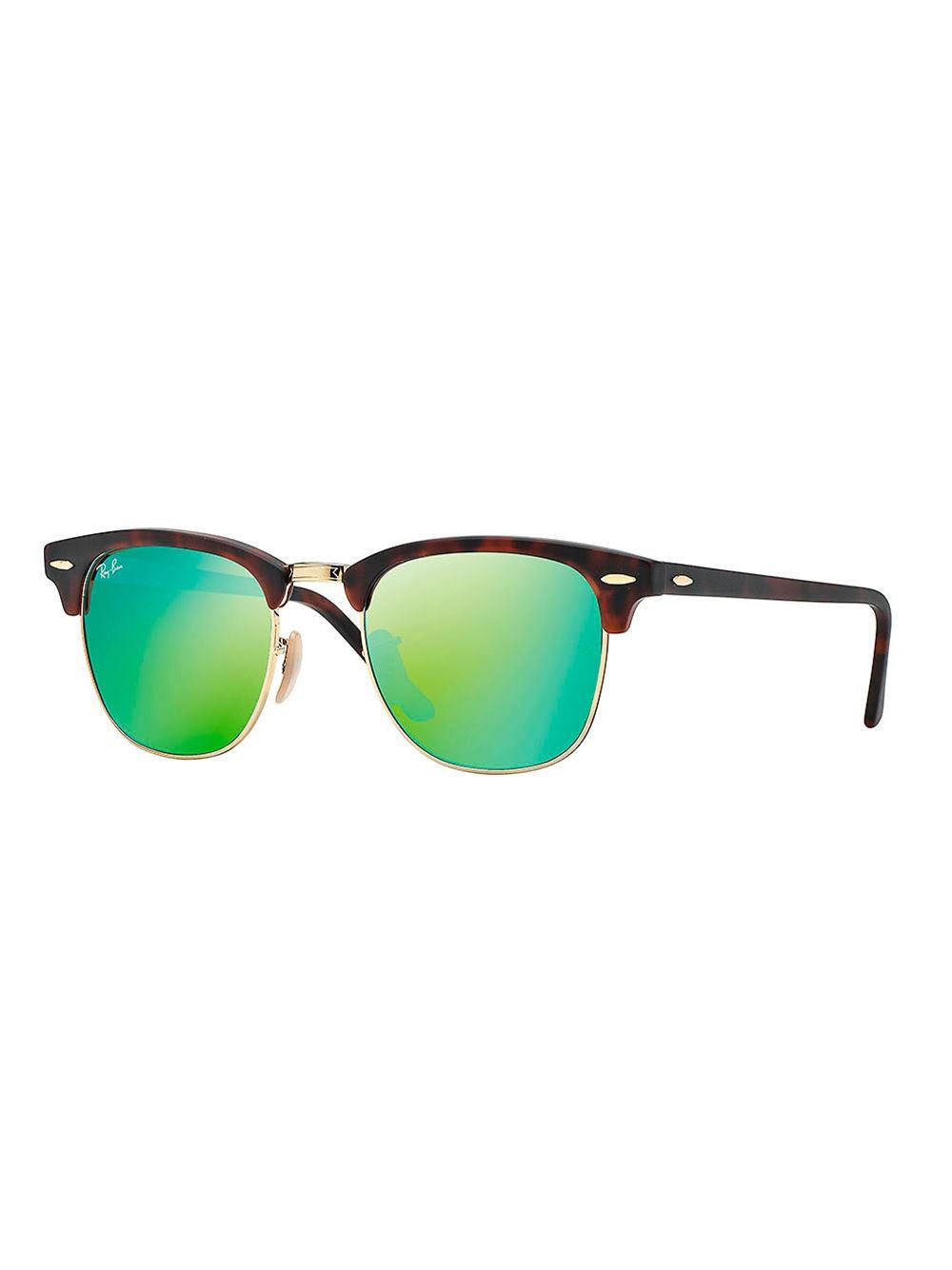 Ray-Ban 'clubmaster' Sunglasses in Brown