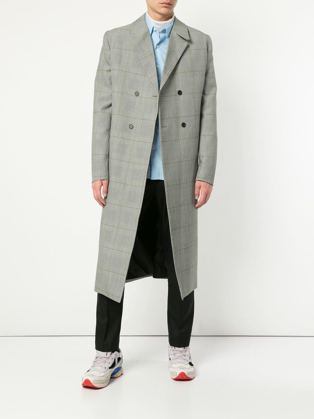 41a45f385267 Strateas Carlucci - Gray Meta Coat for Men - Lyst. View fullscreen