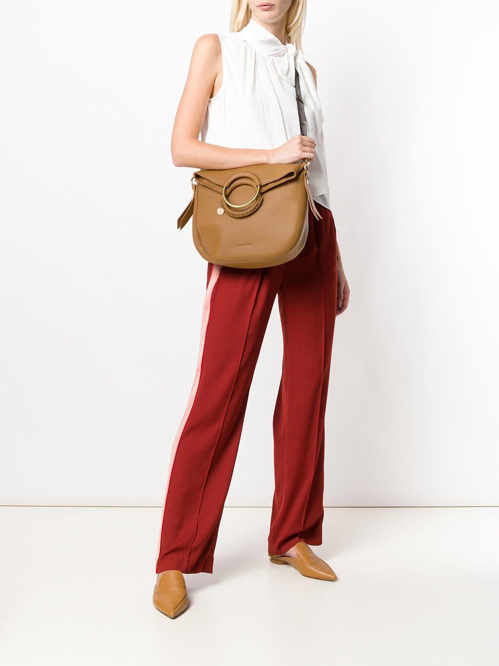 09312ac1 See By Chloé Multicolor Monroe Shoulder Bag