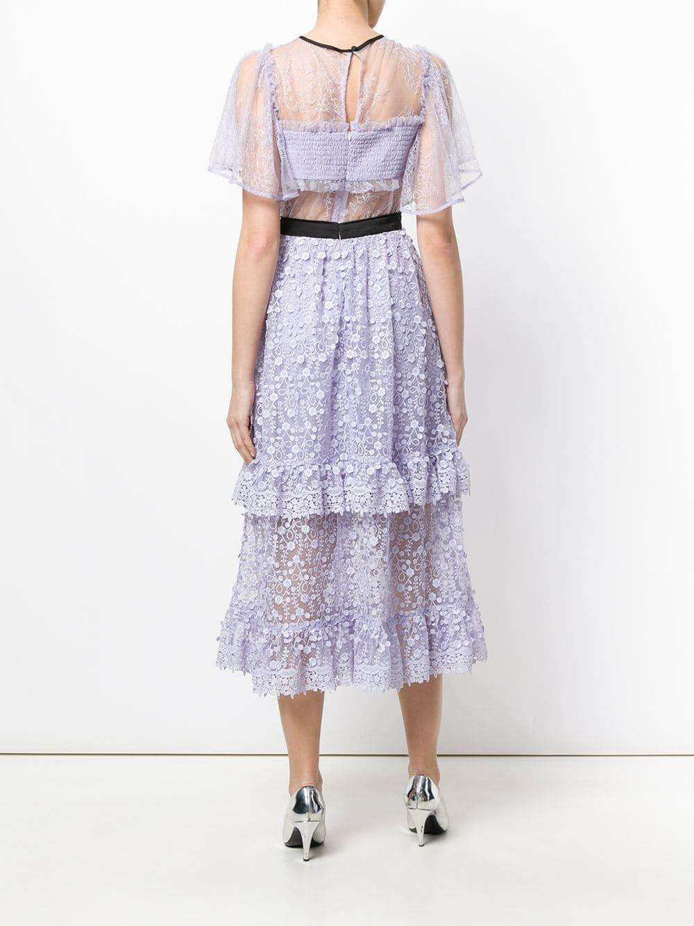 Vestido Violette Three Floor de Tejido sintético de color Rosa