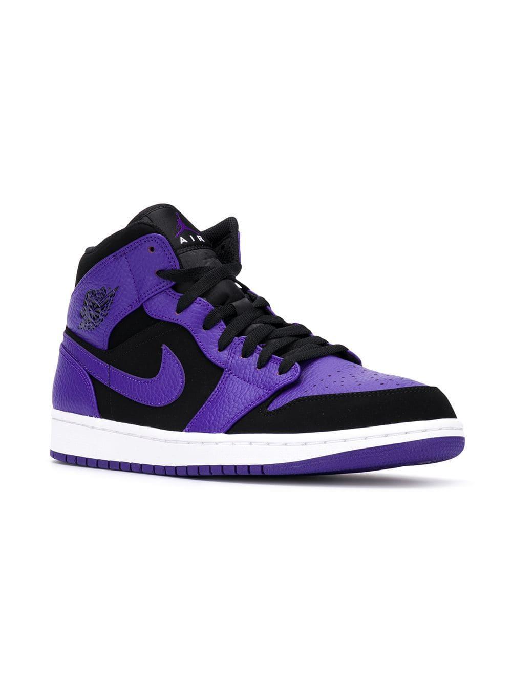 488a6914f0076d Nike - Purple Air 1 Mid Sneakers - Lyst. View fullscreen