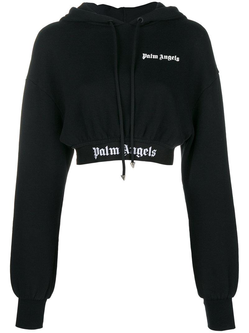belted hoodie - Black Palm Angels Cheap 2018 New xfV0lCMgLW