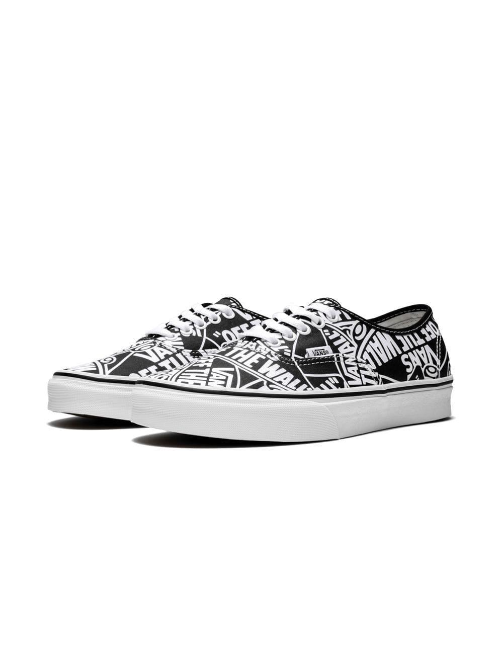 66249773966 Vans - Black Authentic Otw Repeat Sneakers for Men - Lyst. View fullscreen