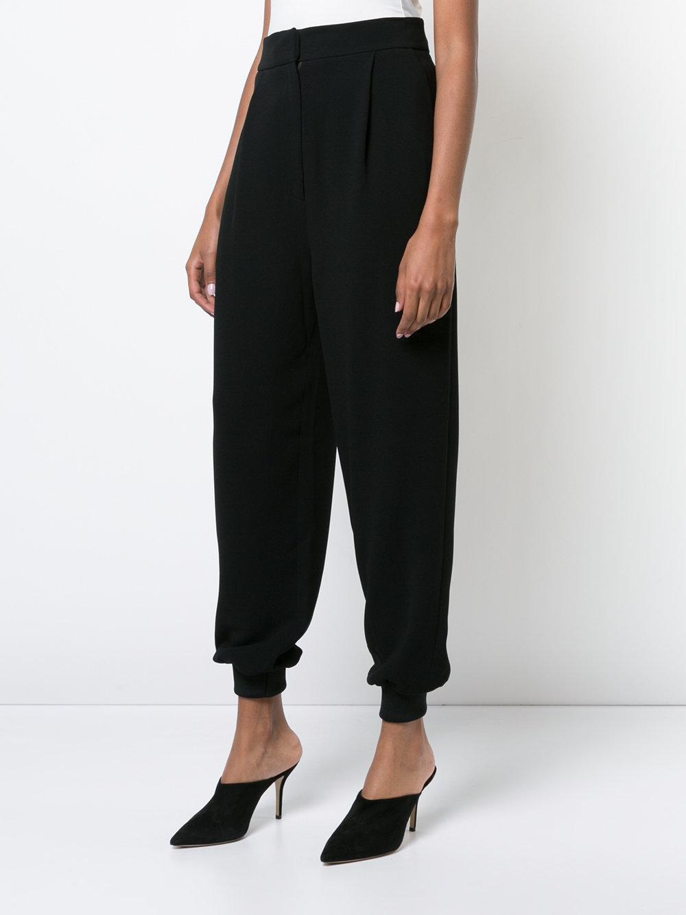 globo pliegues estilo de de de Pantalones con Tibi 4Owanq