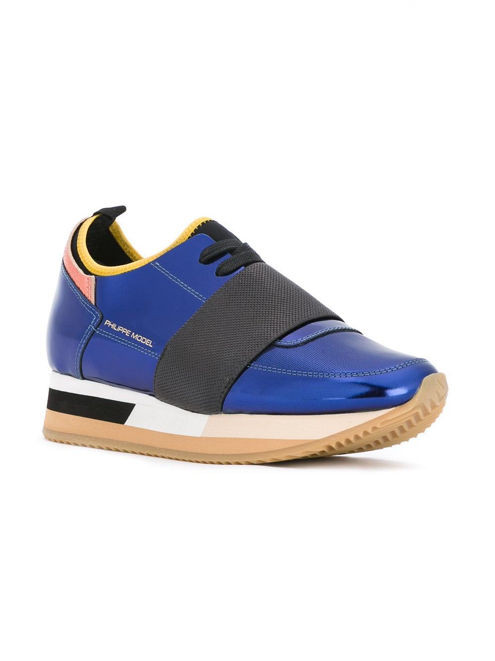 Lyst Philippe Model Pretty Sneakers In Blue