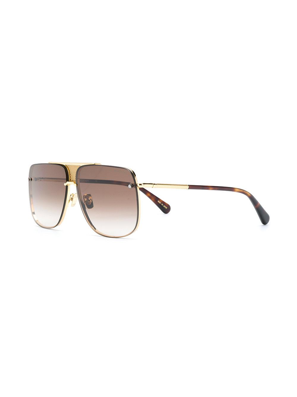 57c69bf242c1 Belstaff Sexton Square Sunglasses in Metallic for Men - Lyst