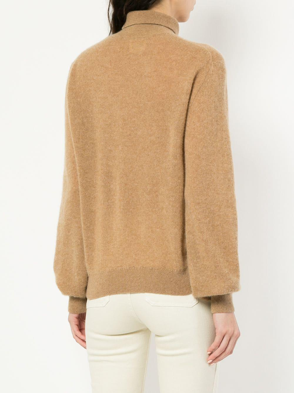 Julie In Cashmere Khaite Sweater Brown Lyst YdqARW