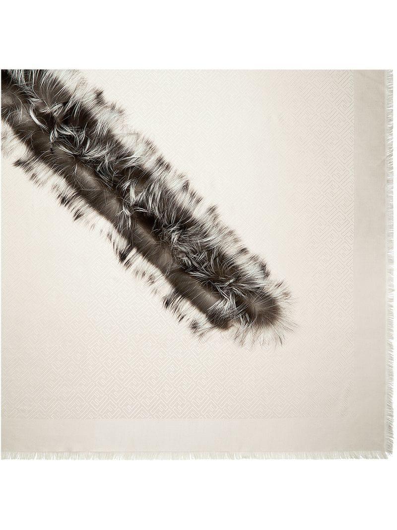 Lyst - Chal Touch of Fur Fendi 3aedcbb240c