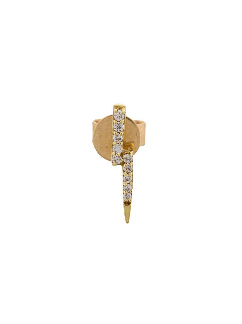 Khai Khai Zeus Stud earring - Metallic n06cGd