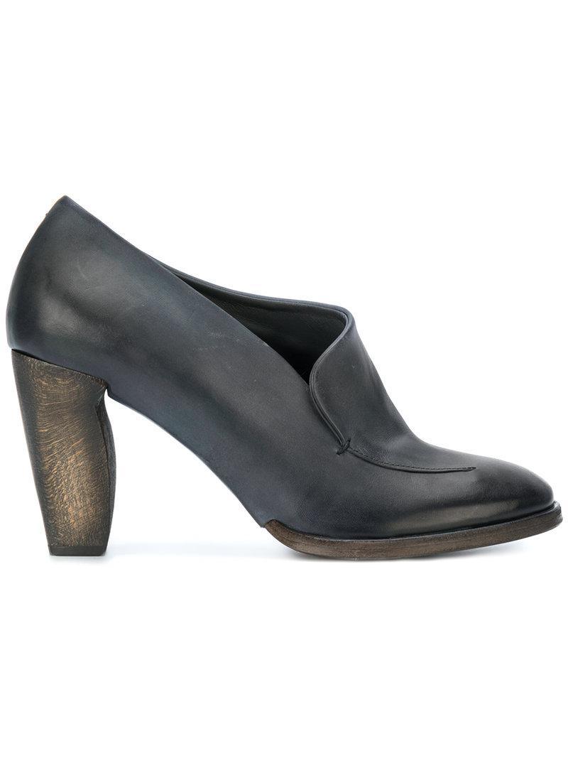 ROBERTO DEL CARLO Block heel pumps Sqpa3Ab