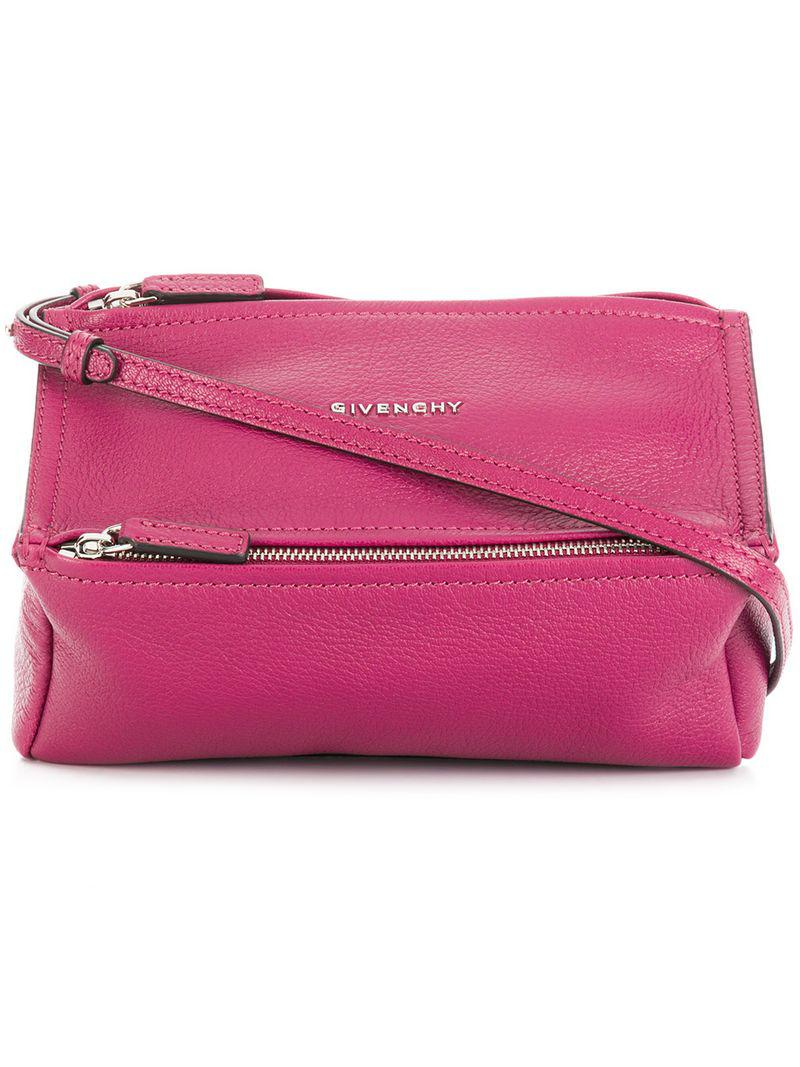 Givenchy - Purple Mini Pandora Crossbody Bag - Lyst. View fullscreen b624aab020