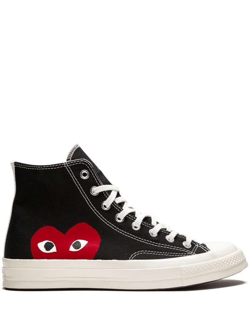 Lyst Converse X Comme Des Gar 231 Ons Play Chuck 70 Sneakers