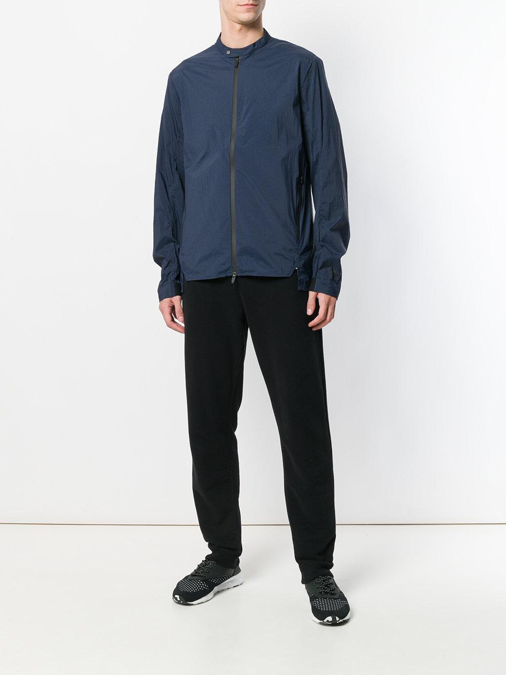 Oakley Zipped Bomber Jacket in Blue for Men