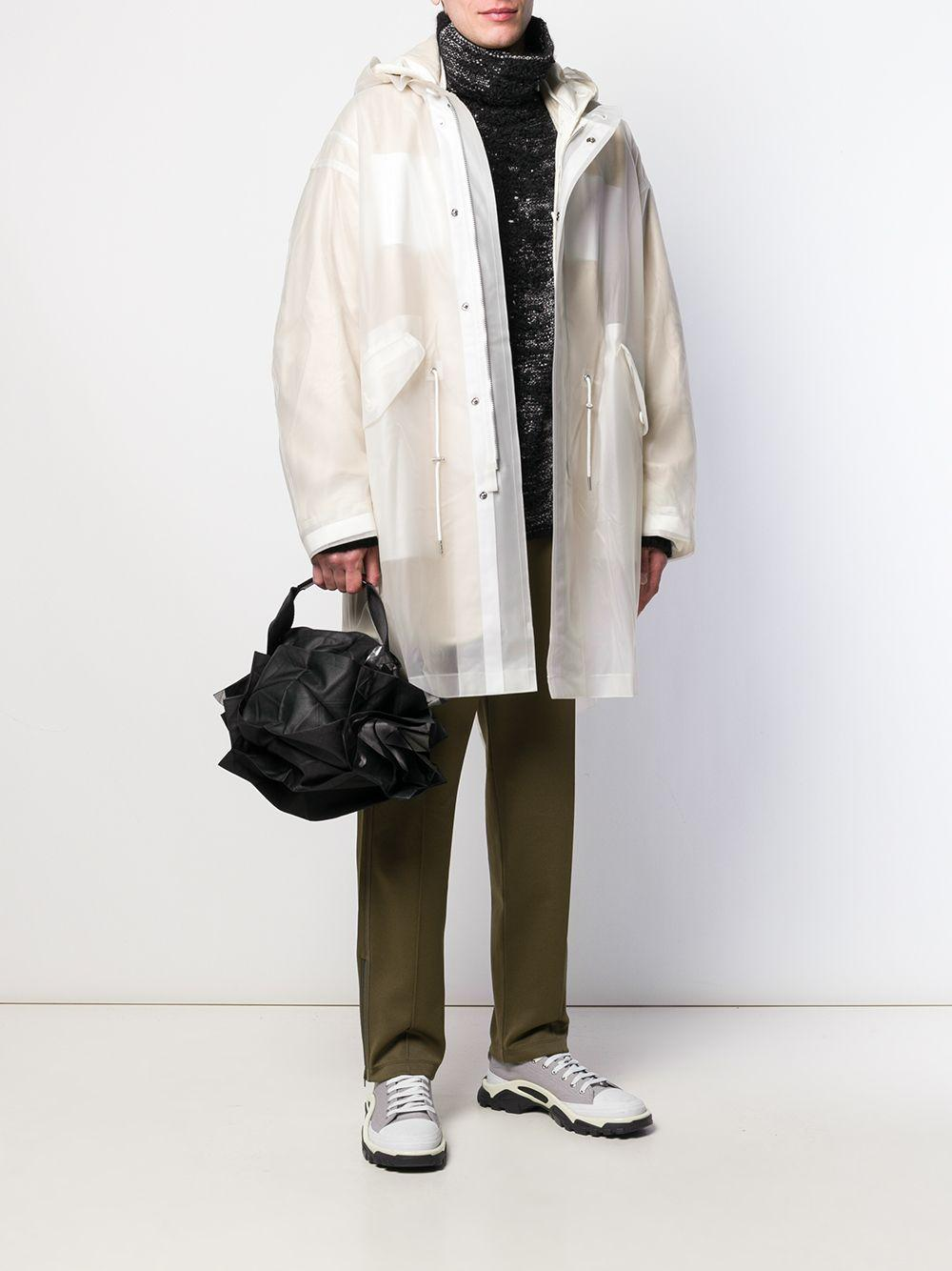 132 5. Issey Miyake 'Standard 3' Handtasche in Schwarz PCQoX