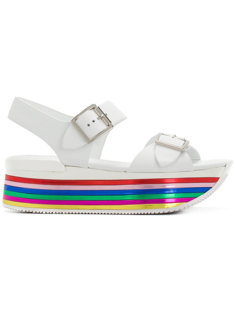 Hogan Chunky heel sandals hHwiD2YUWy