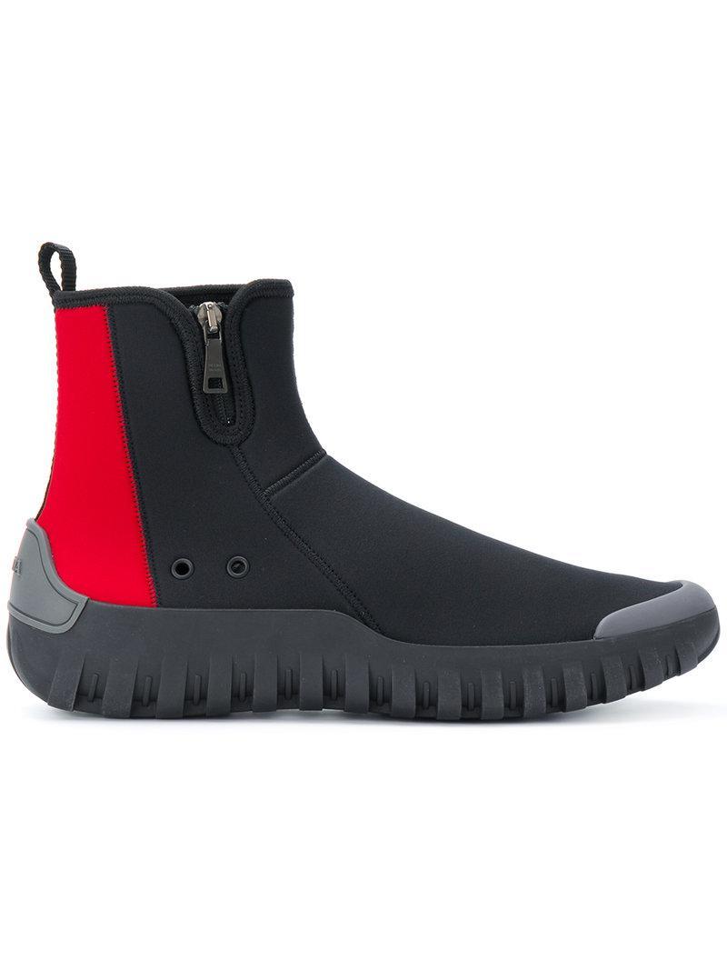 Prada sock sneakers - Nero Barato 2018 Nueva El Envío Libre Cómodo Y0oW3pMnK