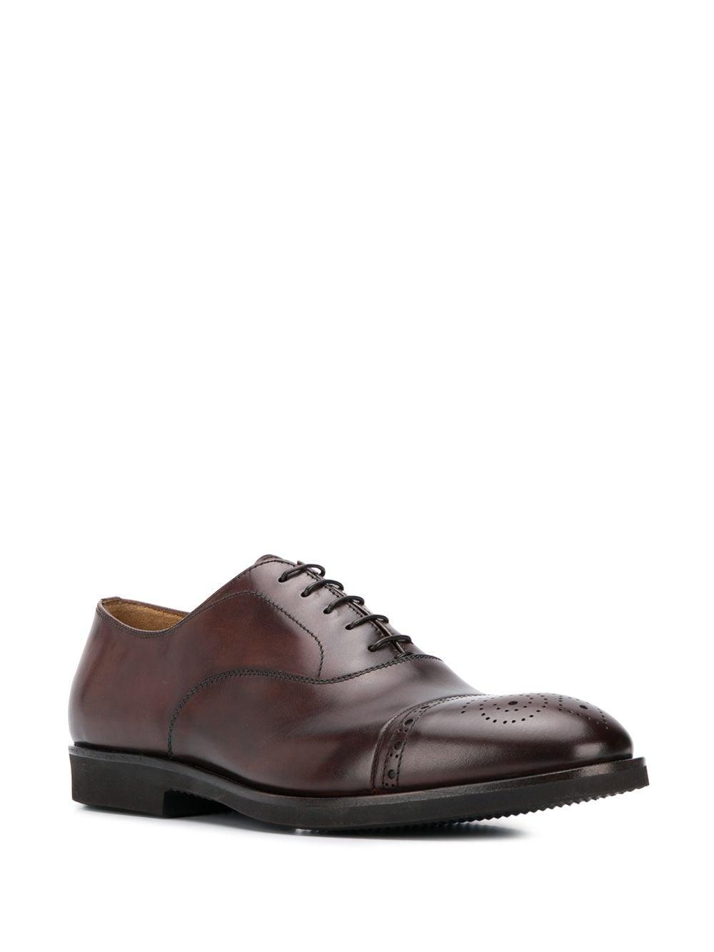 Zapatos oxford con perforaciones Premiata de Cuero de color Marrón para hombre